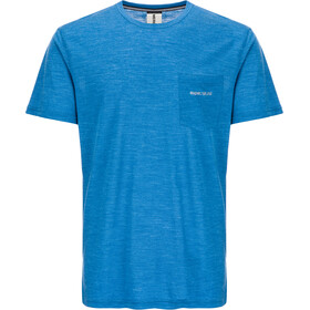 super.natural M's Movement T-Shirt Vallarta Blue Melange